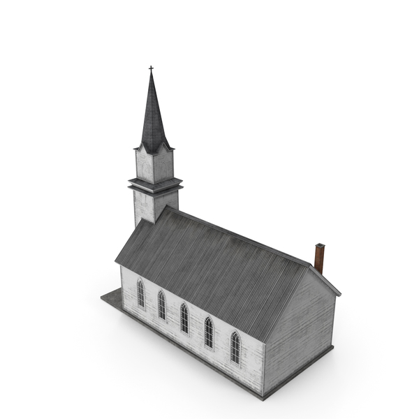 Old Wooden Church PNG & PSD Images