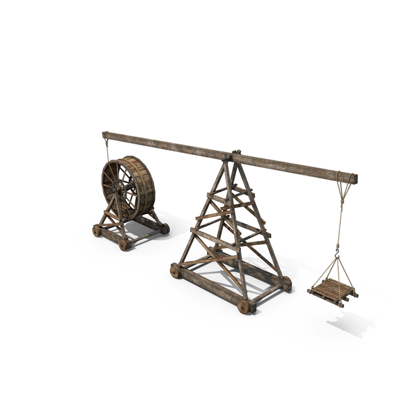 Old Wooden Crane PNG & PSD Images