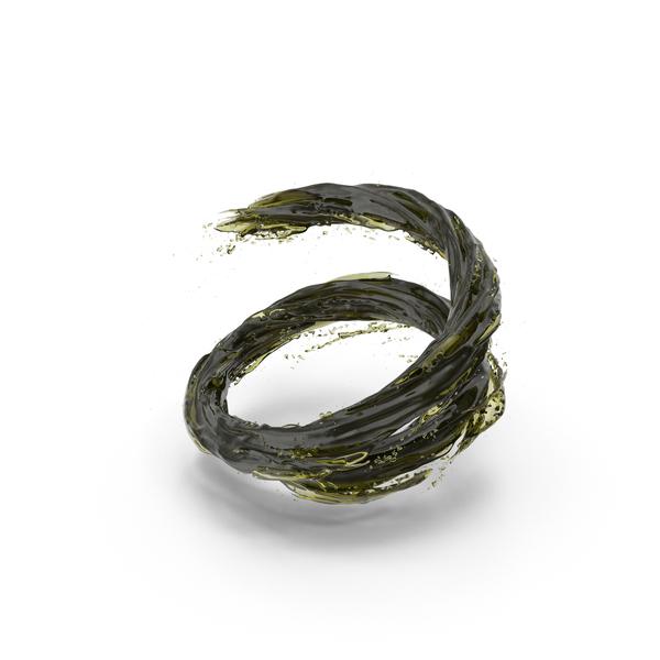 Olive Oil Vortex PNG & PSD Images