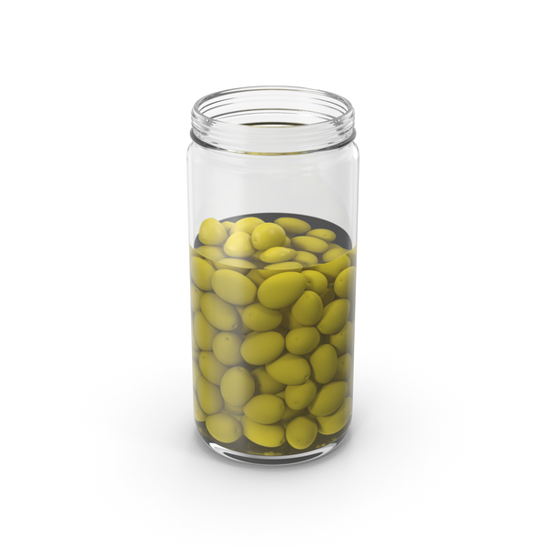 Olives Jar Opened PNG & PSD Images