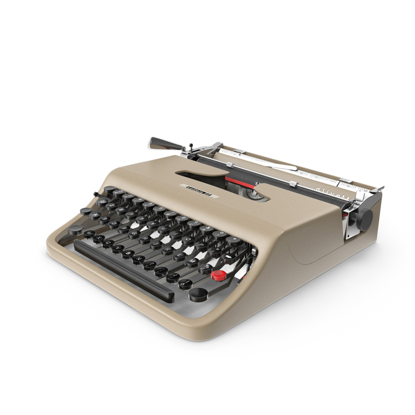 Olivetti Lettera 22 Typewriter PNG & PSD Images