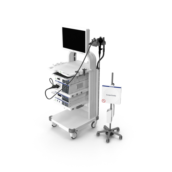 Olympus Evis Exera Endoscope ScopeGuide PNG & PSD Images