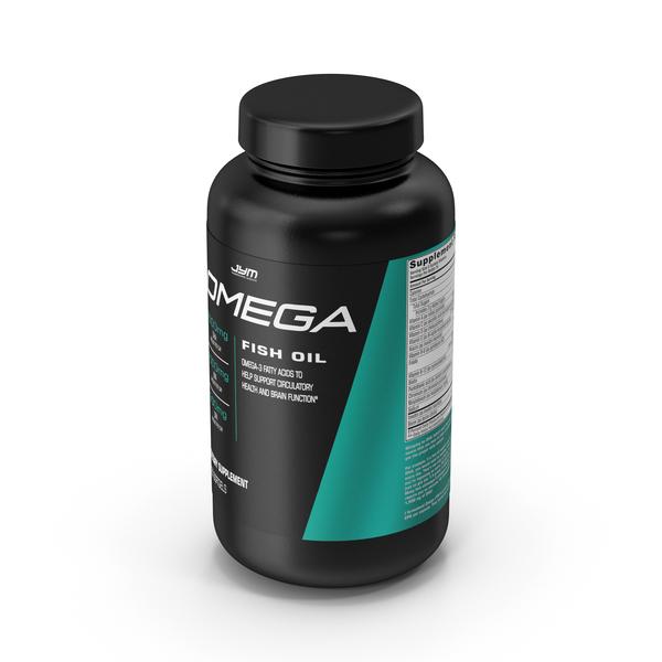 Supplement: Omega JYM Omega3 Fish Oil PNG & PSD Images