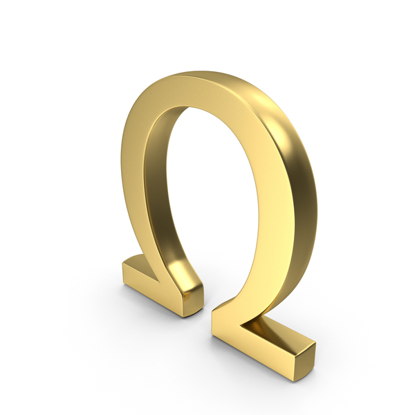 Omega Symbol PNG & PSD Images