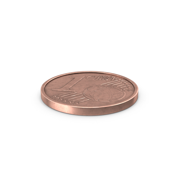 One Euro Cent Coin PNG & PSD Images