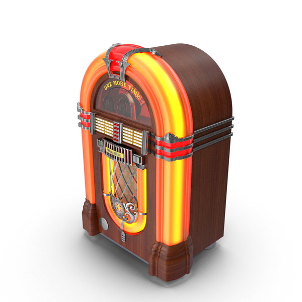 One More Time Wurlitzer Juke Box PNG & PSD Images
