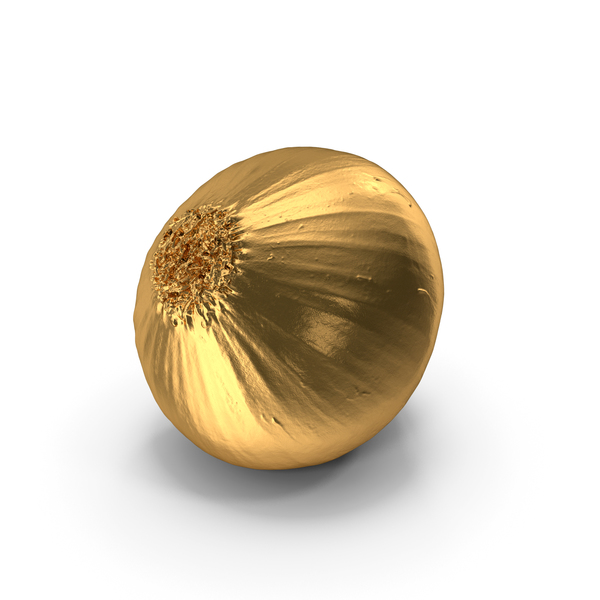 Onion Yellow Gold PNG & PSD Images