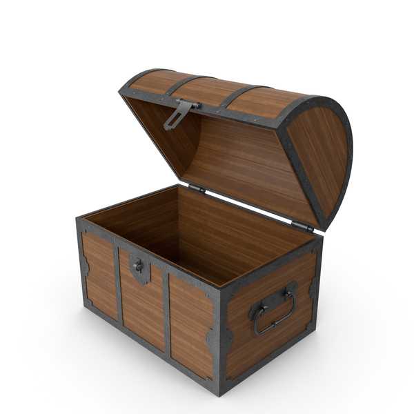 Wooden: Open Chest PNG & PSD Images