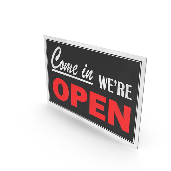 Open-Closed Sign PNG & PSD Images
