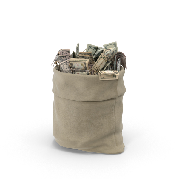 Sack: Open Money Bag PNG & PSD Images