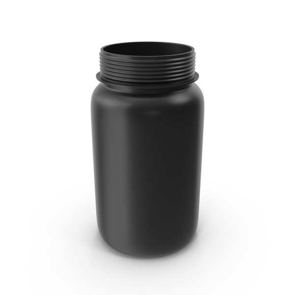 Open Pill Bottle PNG & PSD Images