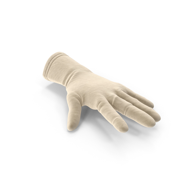 Gloves: Open Suede Glove PNG & PSD Images