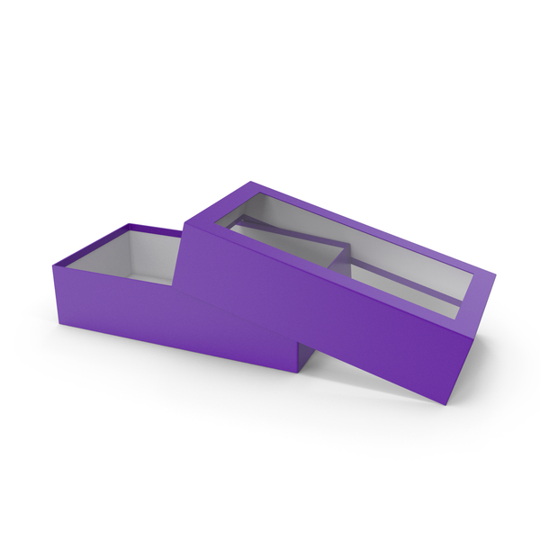 Opened Box Purple PNG & PSD Images