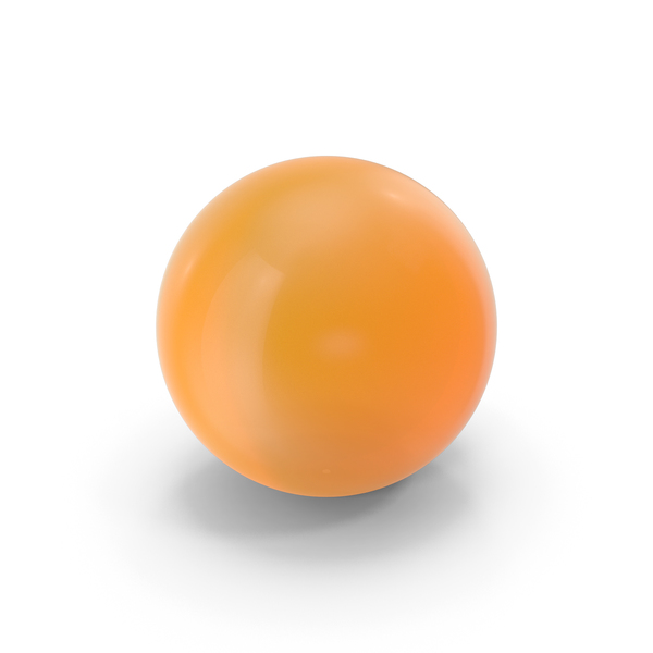 Sphere: Orange Ball Glass PNG & PSD Images