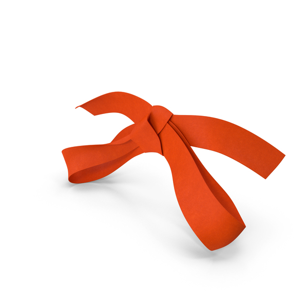 Orange Bow PNG & PSD Images