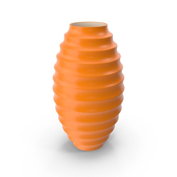 Orange Calligaris Circle Vase PNG & PSD Images