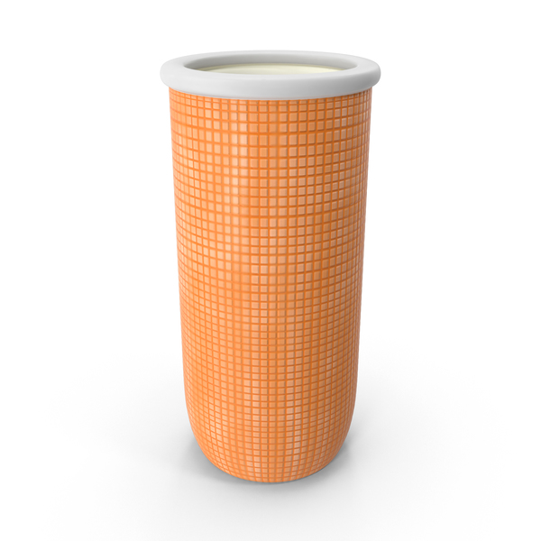 Orange Ceramic Vase PNG & PSD Images