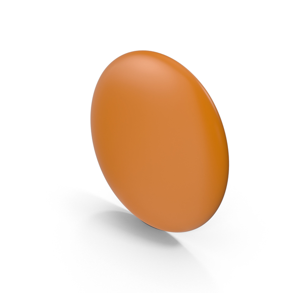 Orange Flair Pin PNG & PSD Images