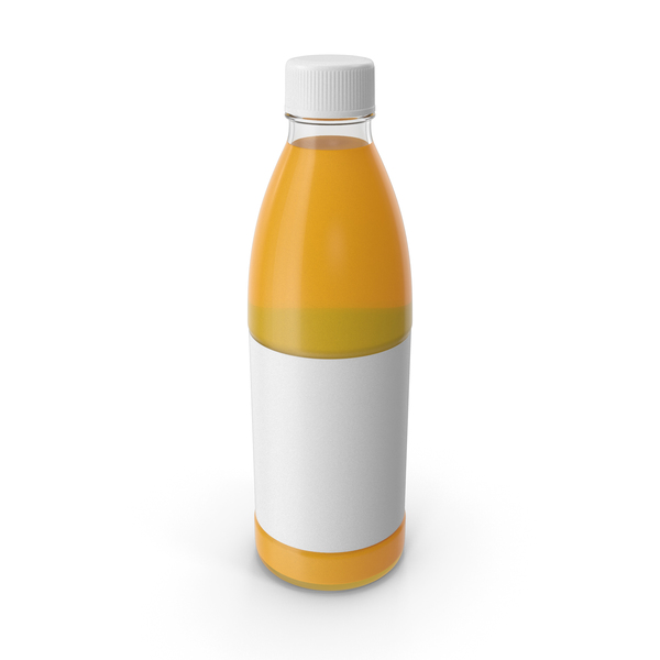 Orange Juice Bottle PNG & PSD Images
