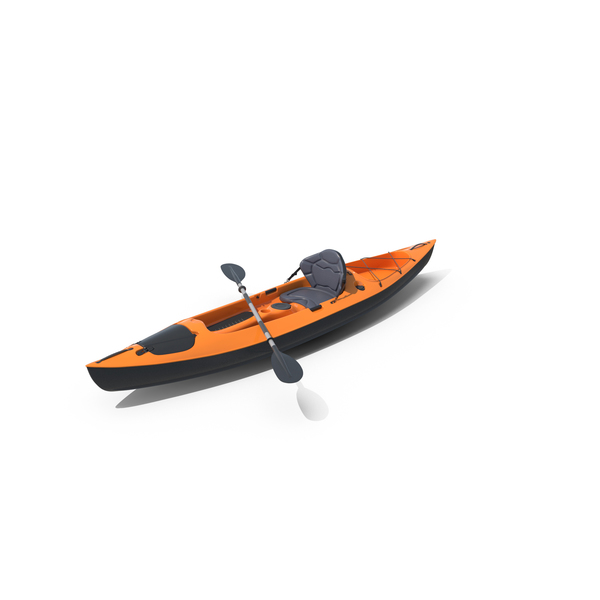 Orange Kayak PNG & PSD Images