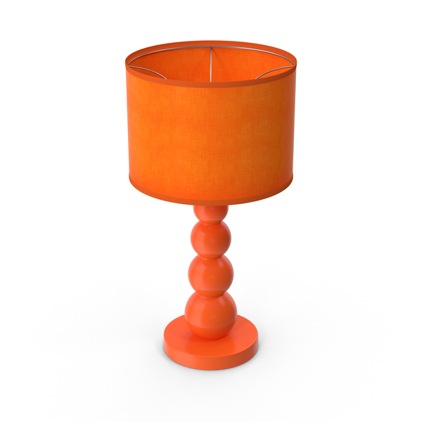 Orange Lamp PNG & PSD Images