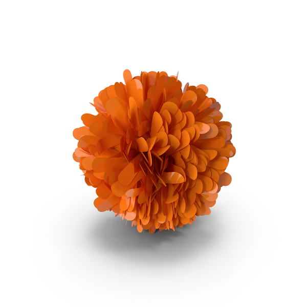 Orange Pom Pom PNG & PSD Images