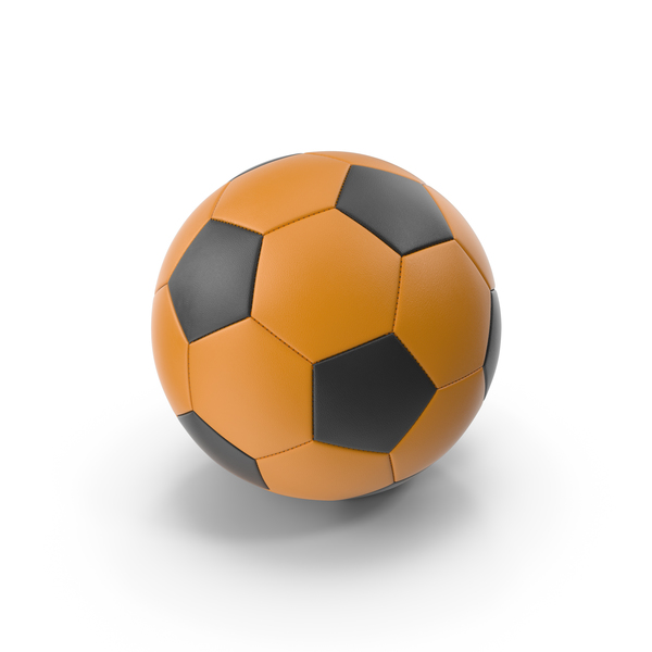 Orange Soccer Ball PNG & PSD Images