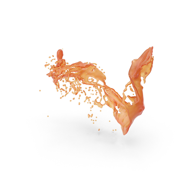 Orange Splash PNG & PSD Images