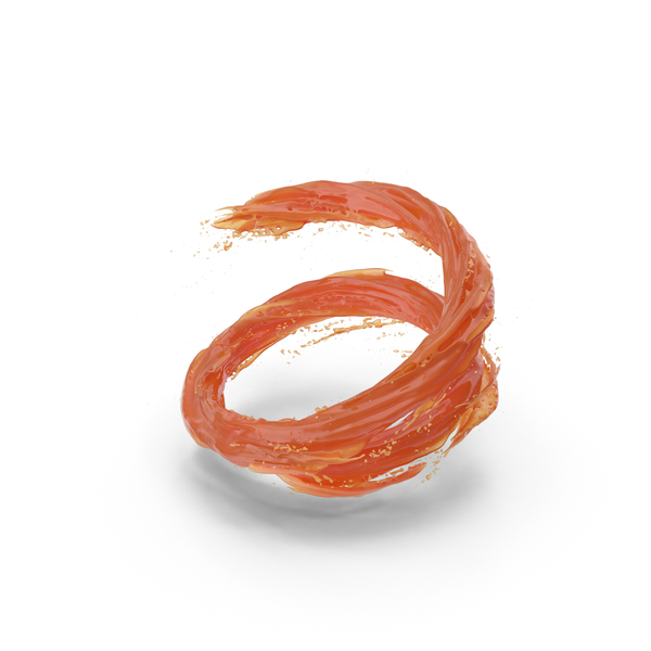 Orange Vortex PNG & PSD Images