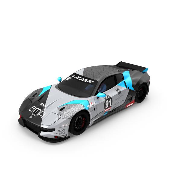 Orhes Racing Ligier JS2 R PNG & PSD Images