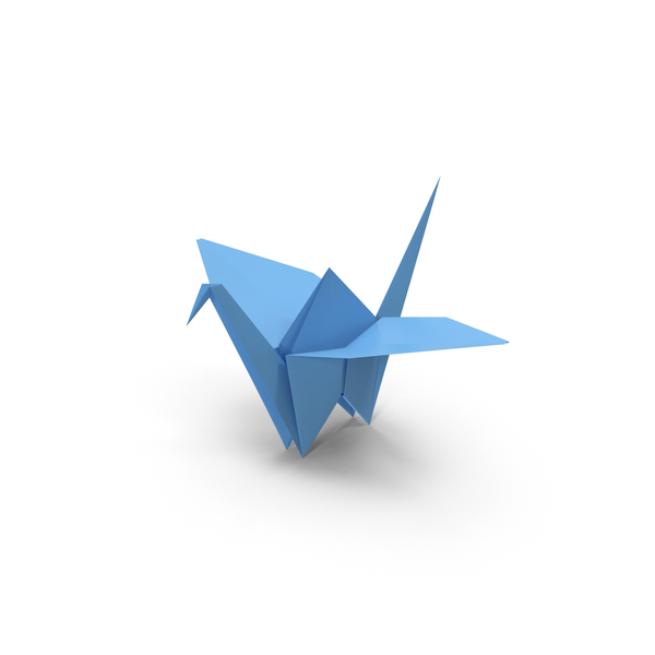 Origami Crane PNG & PSD Images