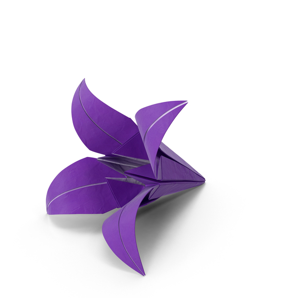 Origami Lily PNG & PSD Images