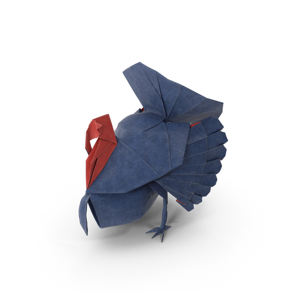 Origami Turkey PNG & PSD Images