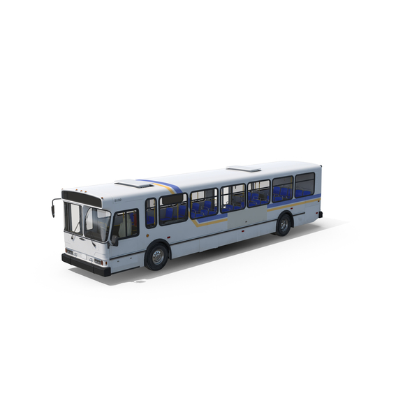 City: Orion V Transit Bus Liberty Lines PNG & PSD Images