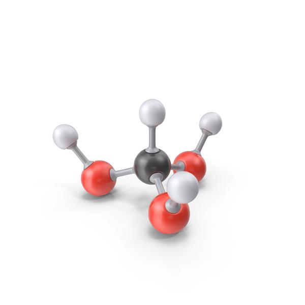 Orthoformic Acid Molecule PNG & PSD Images