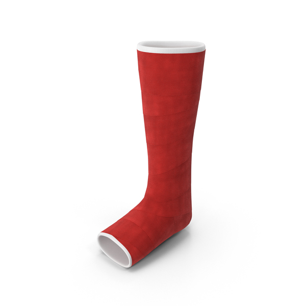 Orthopedic Leg Cast PNG & PSD Images