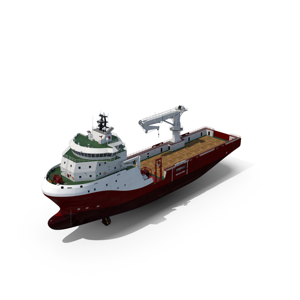 OSCV MPSV Multipurpose Supply Offshore Construction Vessel PNG & PSD Images