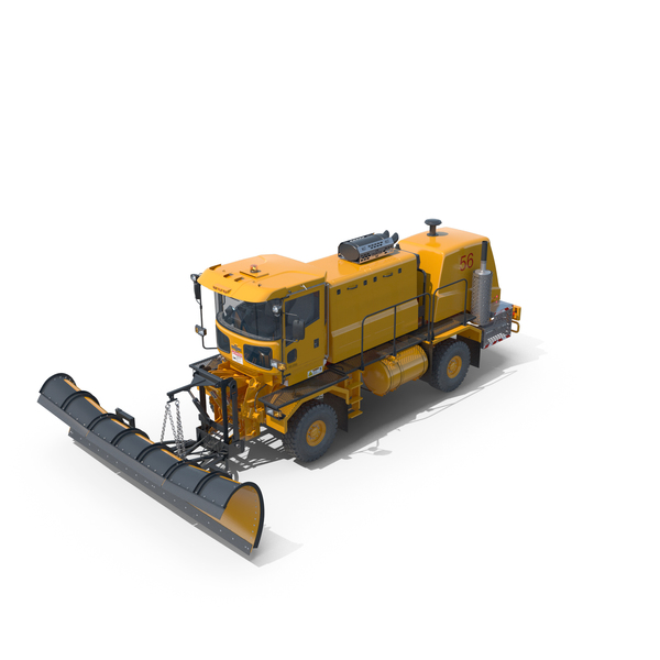 Oshkosh Airport Snow Plow Blade H-Series PNG & PSD Images