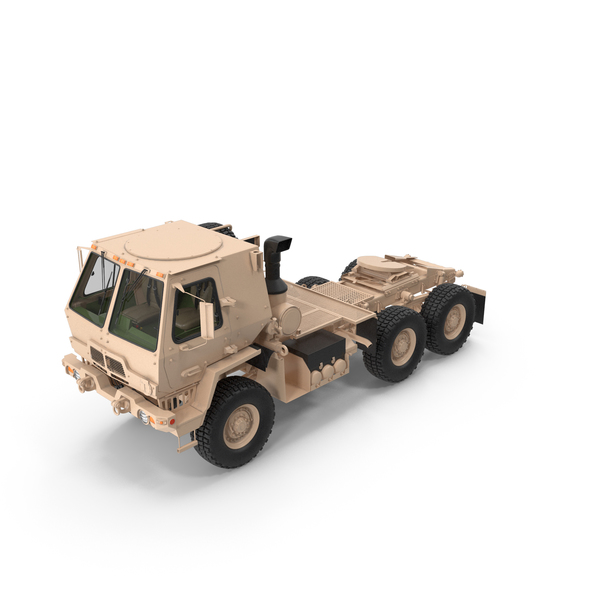 Military Truck: Oshkosh FMTV 5 Ton Tractor PNG & PSD Images