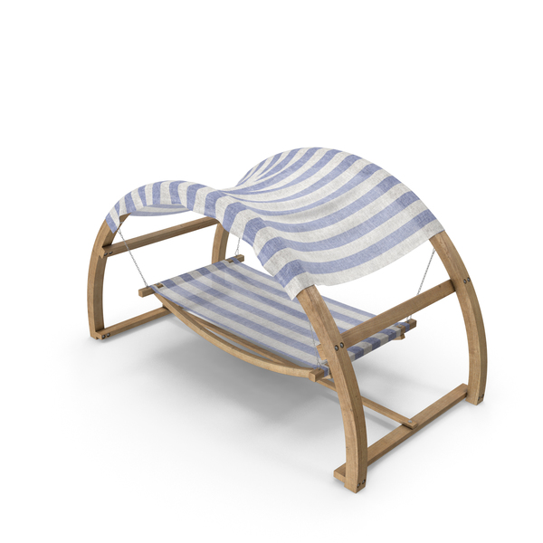 Sun Lounger: Outdoor Bed with Canopy PNG & PSD Images