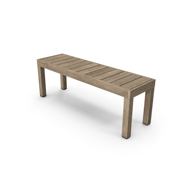 Patio Furniture: Outdoor Bench PNG & PSD Images