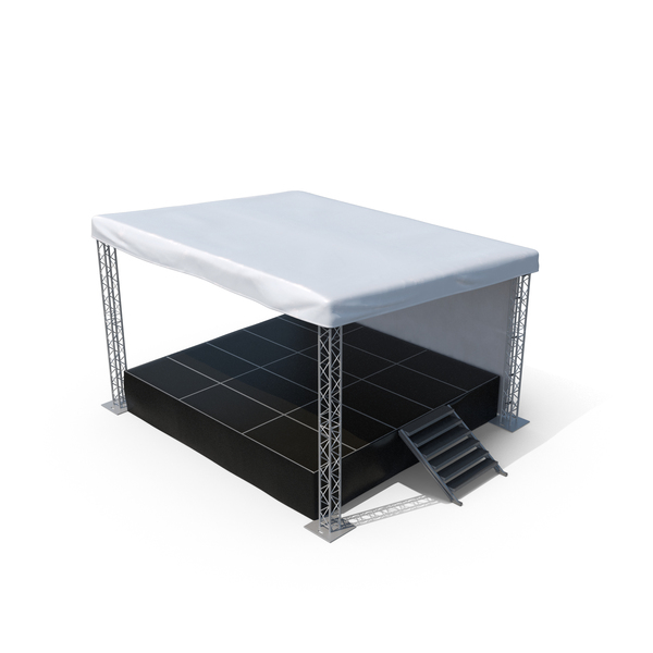 Outdoor Concert Stage Object