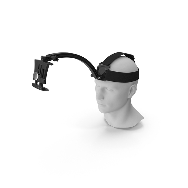 Cell Phone Mount: Outdoor Head Band Holder PNG & PSD Images