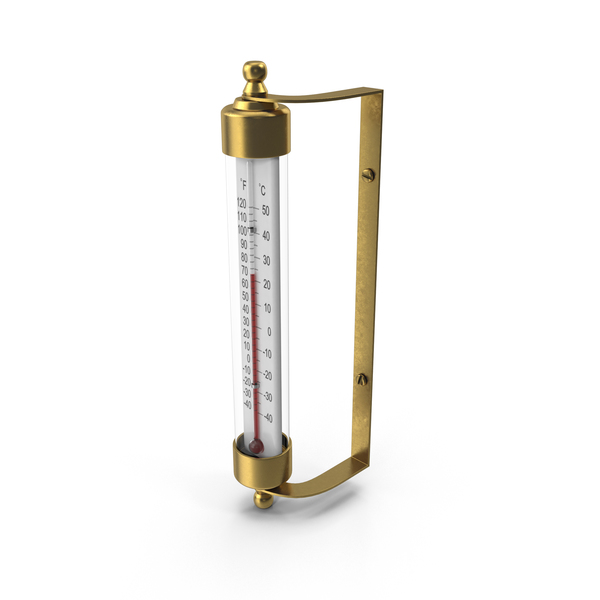 Outdoor Thermometer Object
