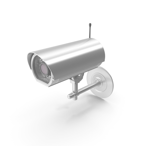 Outdoor Wireless IP Video Camera PNG & PSD Images