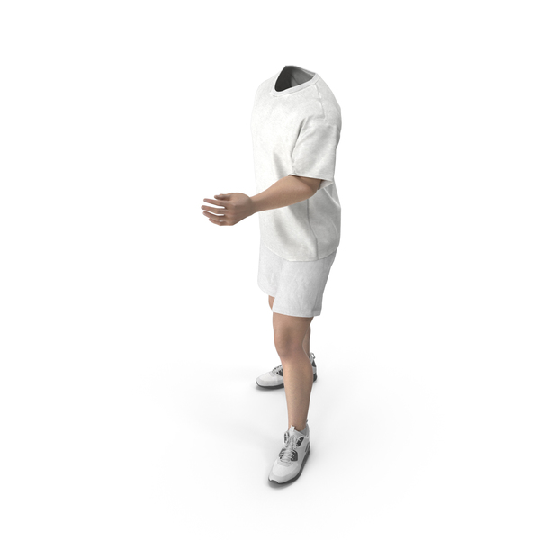 Man: Outfit White PNG & PSD Images