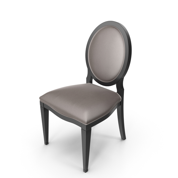 Oval Back Classic Dining Chair PNG & PSD Images
