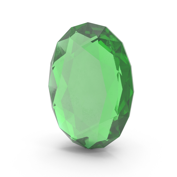 Oval Emerald PNG & PSD Images
