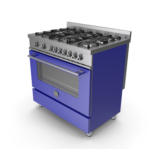 Oven and Range Blue PNG & PSD Images
