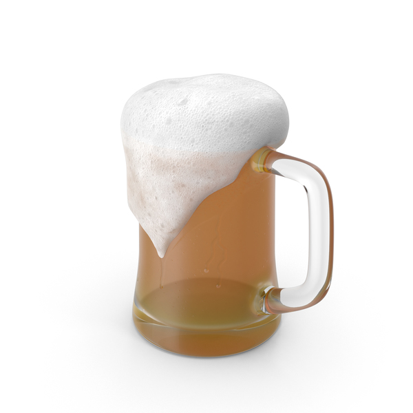 Overflowing Beer Mug PNG & PSD Images